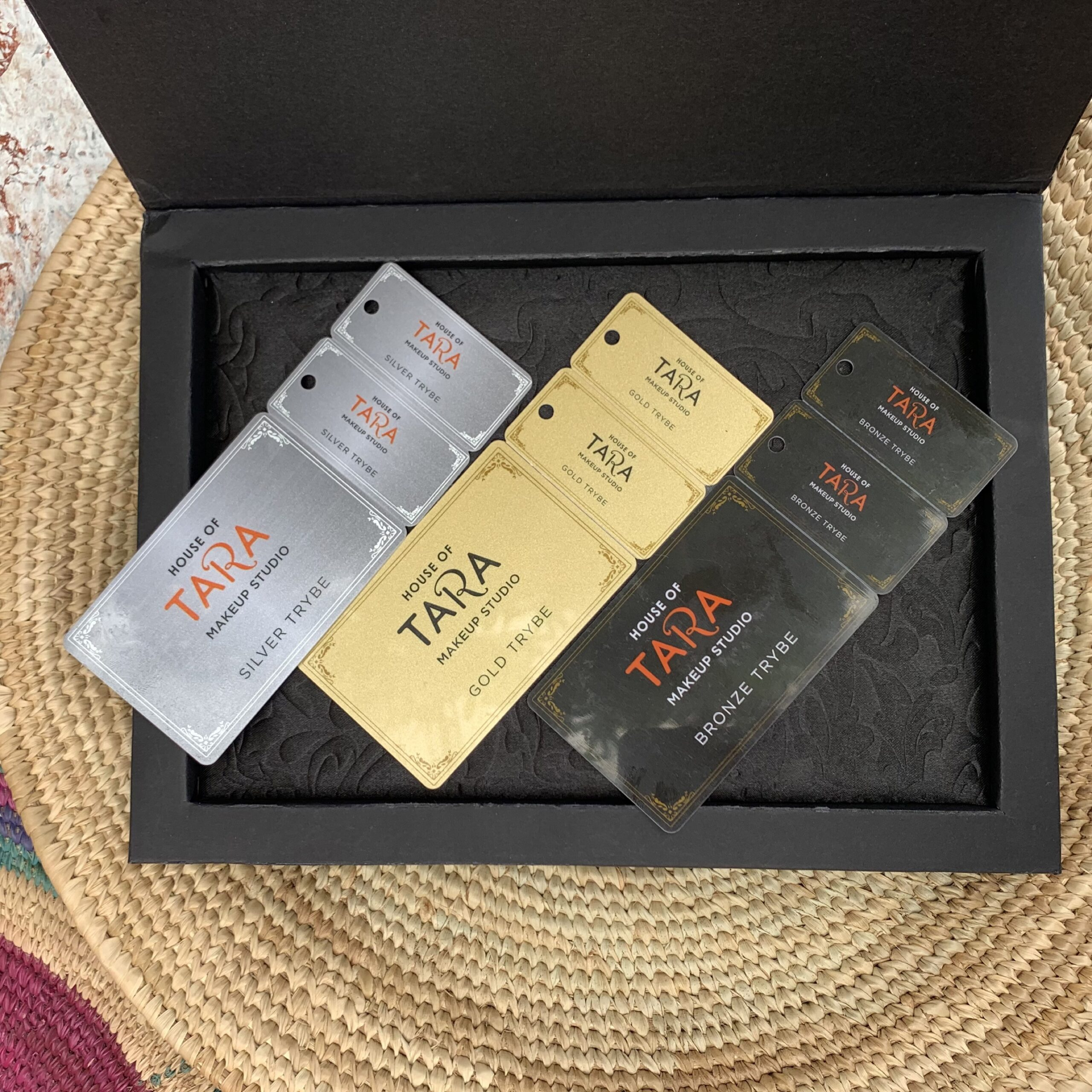 Tara Christmas gift box with 3 vouchers inside